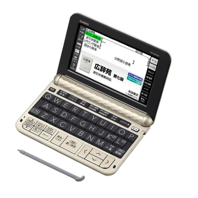 【送料無料】CASIO カシオ 電子辞書 EX-word エクスワード 生活・教養モデル XD-Z6500(GD-シャンパンゴールド) XDZ6500GD