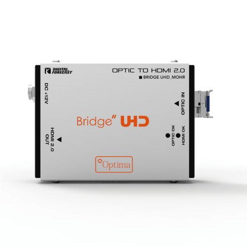 【お取り寄せ商品】【送料無料】ADTECHNO エーディテクノ 超小型軽量4K UHD対応HDMI2.0光延長器 受信機 UHD_M_OHR UHDMOHR