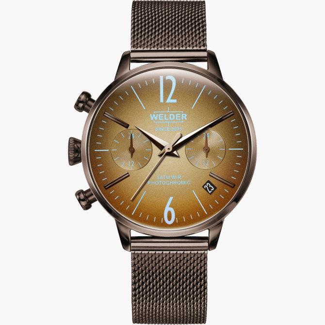 【送料無料】WELDER MOODY ウェルダームーディ 光の角度に応じて色を変える偏光ガラスを採用した腕時計 36MM DUAL MOODY WWRC711【NP】