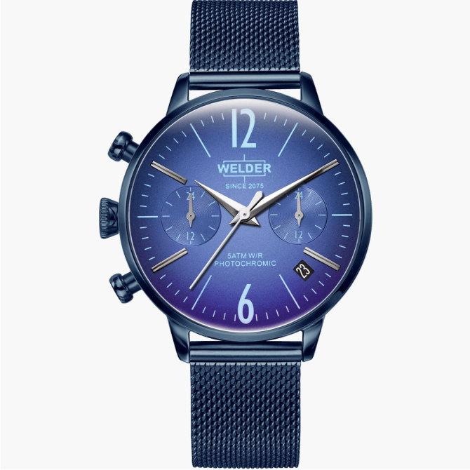 【送料無料】WELDER MOODY ウェルダームーディ 光の角度に応じて色を変える偏光ガラスを採用した腕時計 36MM DUAL MOODY WWRC712【NP】