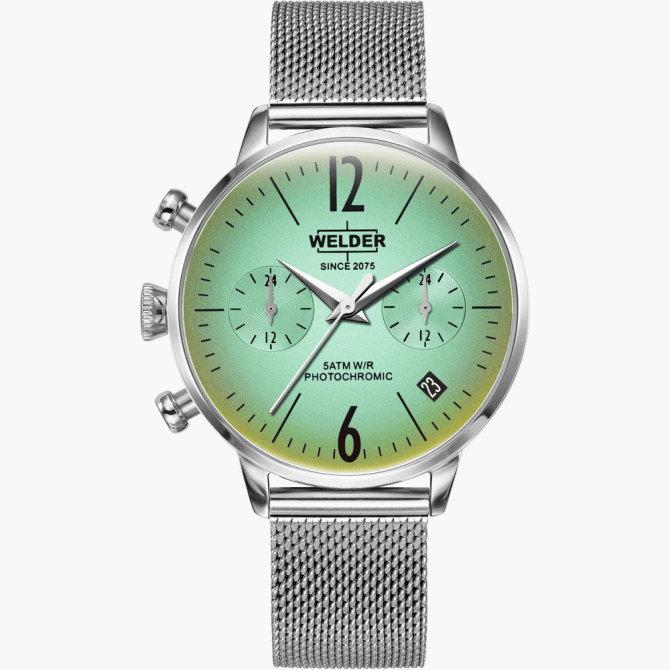 【送料無料】WELDER MOODY ウェルダームーディ 光の角度に応じて色を変える偏光ガラスを採用した腕時計 36MM DUAL MOODY WWRC713【NP】
