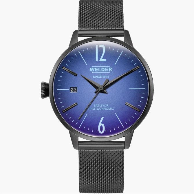 【送料無料】WELDER MOODY ウェルダームーディ 光の角度に応じて色を変える偏光ガラスを採用した腕時計 36MM 3HANDS MOODY WRC718【NP】