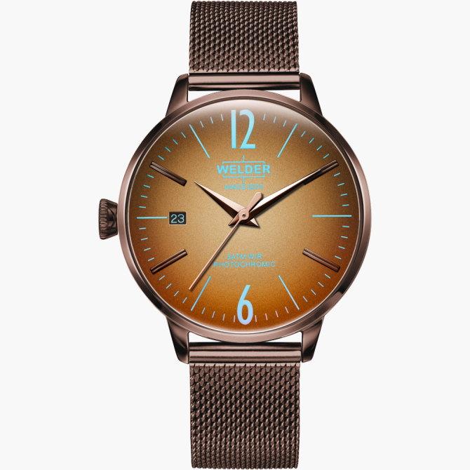 【送料無料】WELDER MOODY ウェルダームーディ 光の角度に応じて色を変える偏光ガラスを採用した腕時計 36MM 3HANDS MOODY WRC719【NP】
