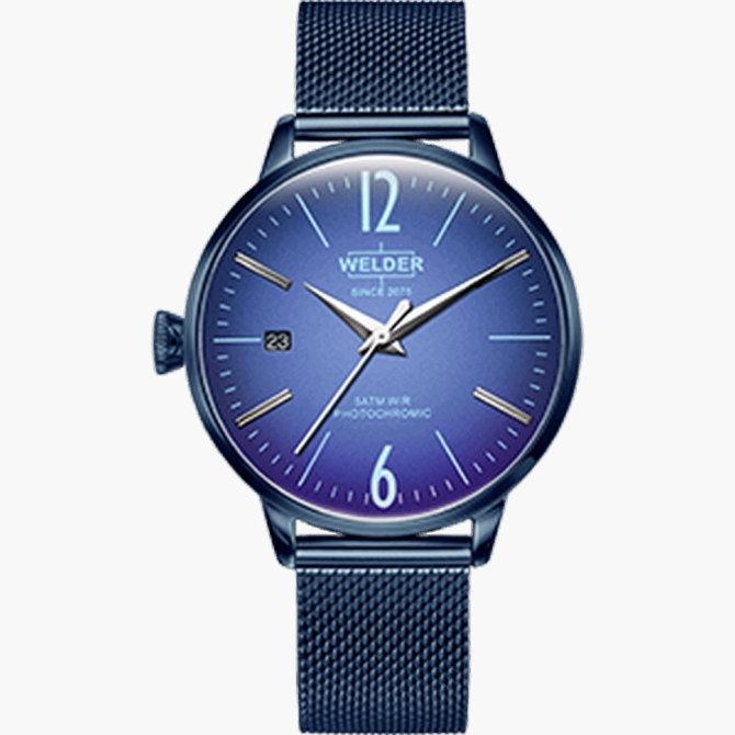 【送料無料】WELDER MOODY ウェルダームーディ 光の角度に応じて色を変える偏光ガラスを採用した腕時計 36MM 3HANDS MOODY WRC720【NP】