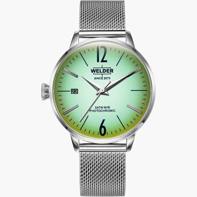 【送料無料】WELDER MOODY ウェルダームーディ 光の角度に応じて色を変える偏光ガラスを採用した腕時計 36MM 3HANDS MOODY WRC721【NP】