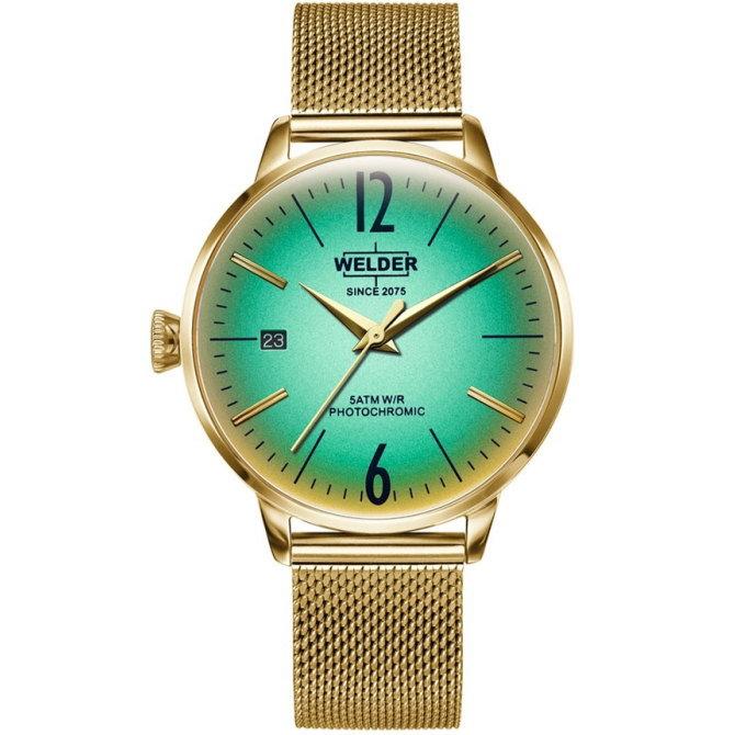 【送料無料】WELDER MOODY ウェルダームーディ 光の角度に応じて色を変える偏光ガラスを採用した腕時計 36MM 3HANDS MOODY WRC722【NP】