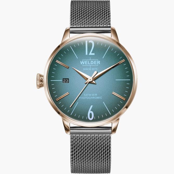 【送料無料】WELDER MOODY ウェルダームーディ 光の角度に応じて色を変える偏光ガラスを採用した腕時計 36MM 3HANDS MOODY WRC724【NP】