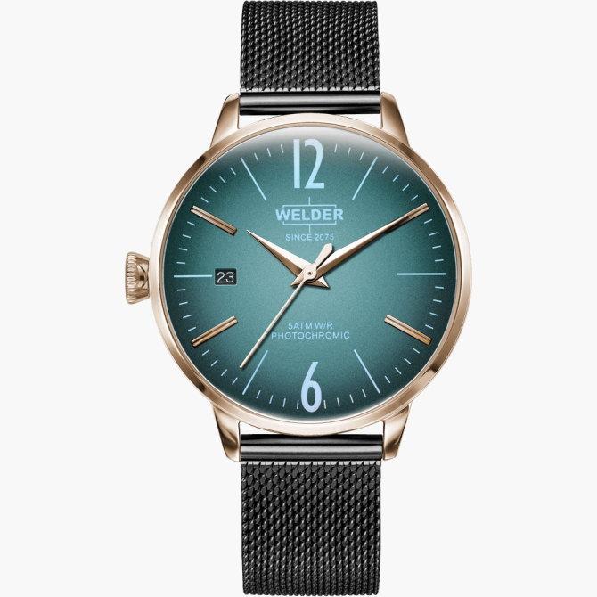 【送料無料】WELDER MOODY ウェルダームーディ 光の角度に応じて色を変える偏光ガラスを採用した腕時計 36MM 3HANDS MOODY WRC728【NP】