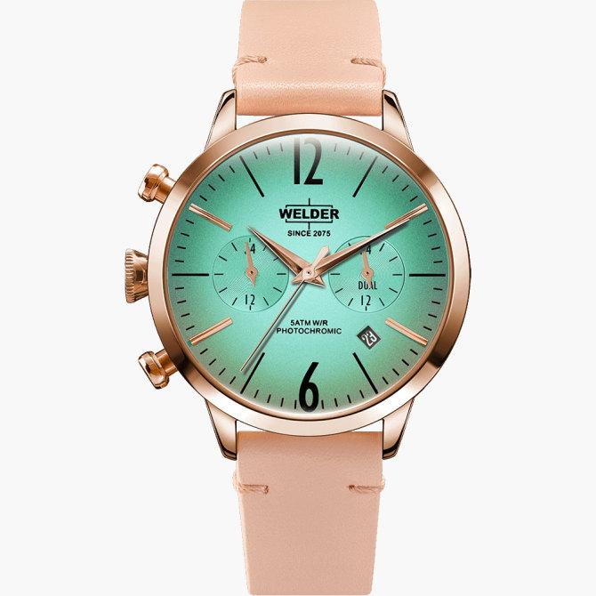 【送料無料】WELDER MOODY ウェルダームーディ 光の角度に応じて色を変える偏光ガラスを採用した腕時計 38MM DUAL MOODY WWRC100【NP】