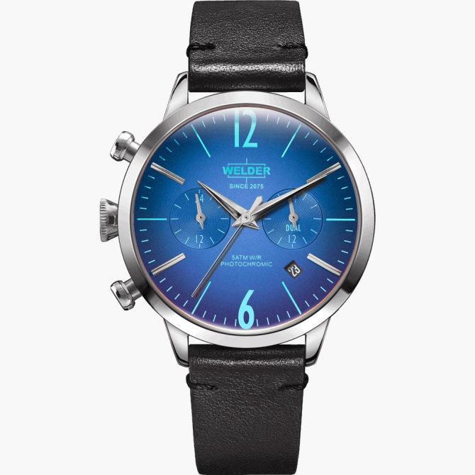 【送料無料】WELDER MOODY ウェルダームーディ 光の角度に応じて色を変える偏光ガラスを採用した腕時計 38MM DUAL MOODY WWRC101【NP】
