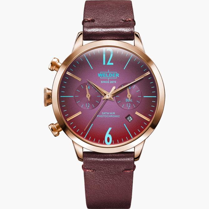 【送料無料】WELDER MOODY ウェルダームーディ 光の角度に応じて色を変える偏光ガラスを採用した腕時計 38MM DUAL MOODY WWRC103【NP】