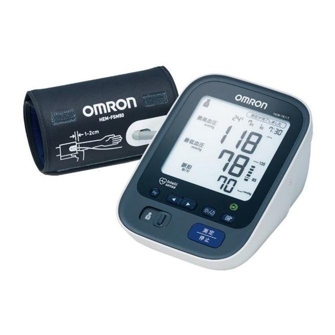 【送料無料】OMRON オムロン 上腕式血圧計 HEM-7511T HEM7511T