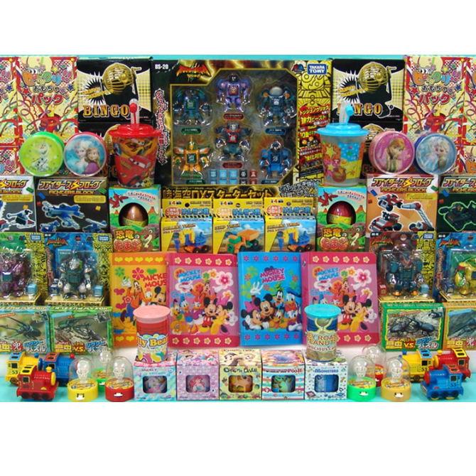 【送料無料】ザ・模擬店ツール お祭り・イベントに! おもちゃがそのままマトになる 射的おもちゃパック 総数200個 1パック (2019)