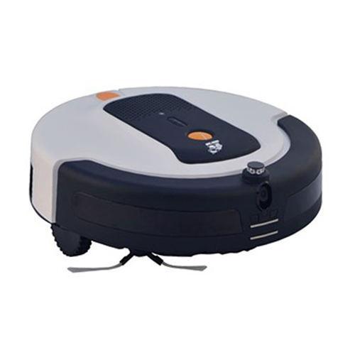 【送料無料】Xrobot ライブカメラ・通話機能搭載 SNSサービスに連動 ロボットクリーナー ロボット掃除機 MAMORU(マモル) C28(ホワイト)【OC】