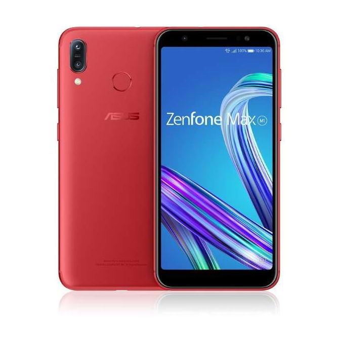 【送料無料】ASUS エイスース SIMフリースマートフォン ZenFone Max (M1) ZB555KL-RD32S3(ルビーレッド)