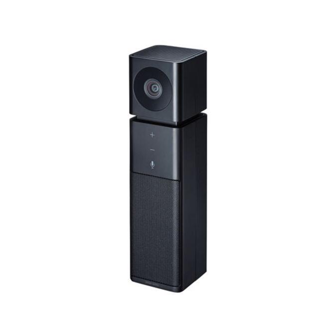 【送料無料】SANWA SUPPLY サンワサプライ SkypeなどのWEB会議に最適なマイクとスピーカーを内蔵したWEBカメラ CMS-V47(BK-ブラック) CMSV47BK