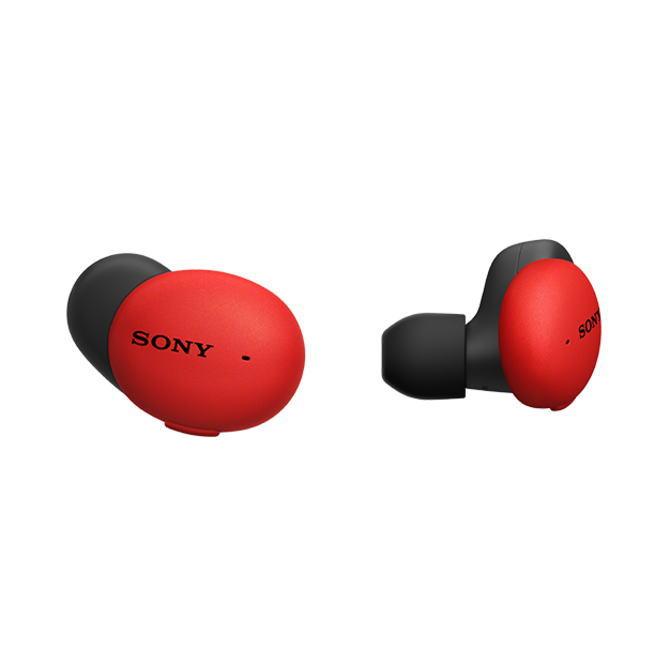 【送料無料】SONY ソニー ワイヤレスステレオヘッドセット h.ear in 3 Wireless WF-H800(R-レッド) WFH800R