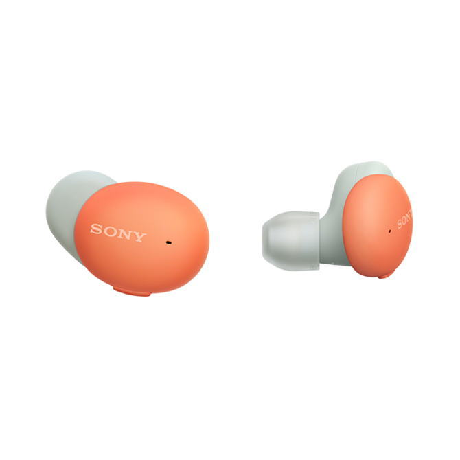【送料無料】SONY ソニー ワイヤレスステレオヘッドセット h.ear in 3 Wireless WF-H800(D-オレンジ) WFH800D