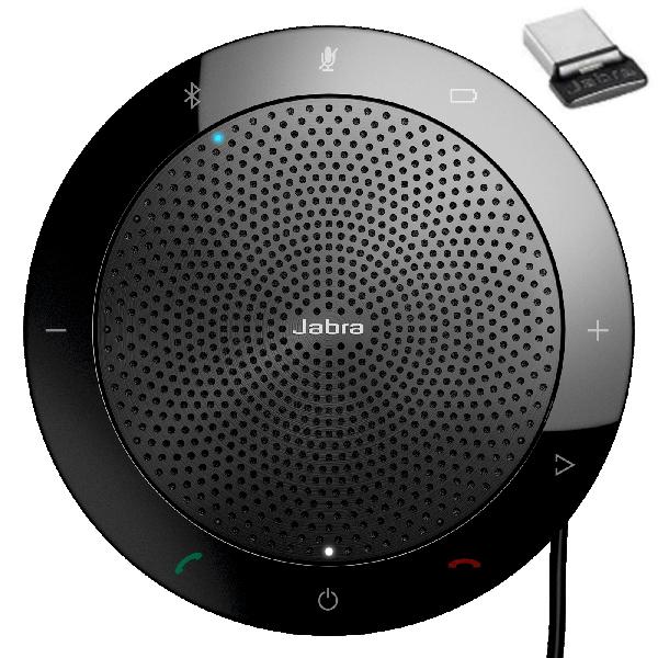 【あす楽対応_関東】【在庫あり送料無料】JABRA ジャブラ 保証2年付 USBドングル付 ミッドレンジポータブルUSB ブルートゥース スピーカーホン Jabra Speak 510+ MS SPEAK510+MS 7510-309【テレワーク応援】