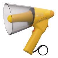 TOA トーア メガホン 拡声器 定格出力6W 防滴メガホン ホイッスル音付 ER-1106W ER1106W