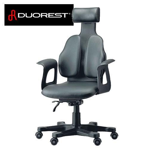 【送料無料】DUOREST デュオレスト 総本皮張りの最高級チェア OAチェア DR-120(ブラック) DR120-1LBK1【※メーカー直送/代引不可】【NP】