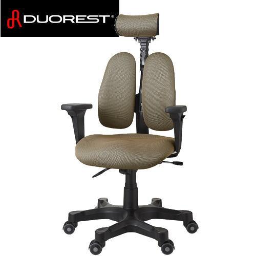 【送料無料】DUOREST デュオレスト ワンランク上の上質な座り心地を表現 OAチェア DR-7501SP(ブラウン) DR7501SP-1ABN1【※メーカー直送/代引不可】【AS】