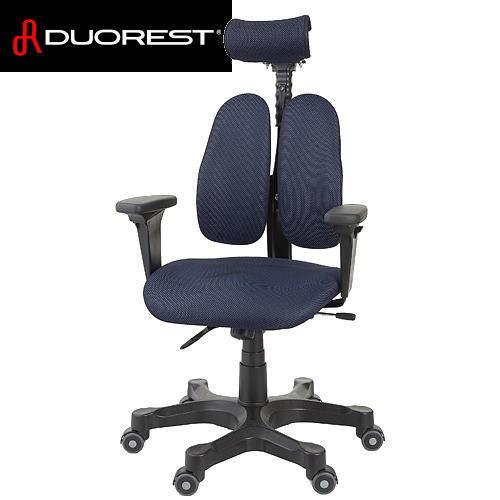 【送料無料】DUOREST デュオレスト ワンランク上の上質な座り心地を表現 OAチェア DR-7501SP(ブルー) DR7501SP-3TBE1【※メーカー直送/代引不可】【AS】