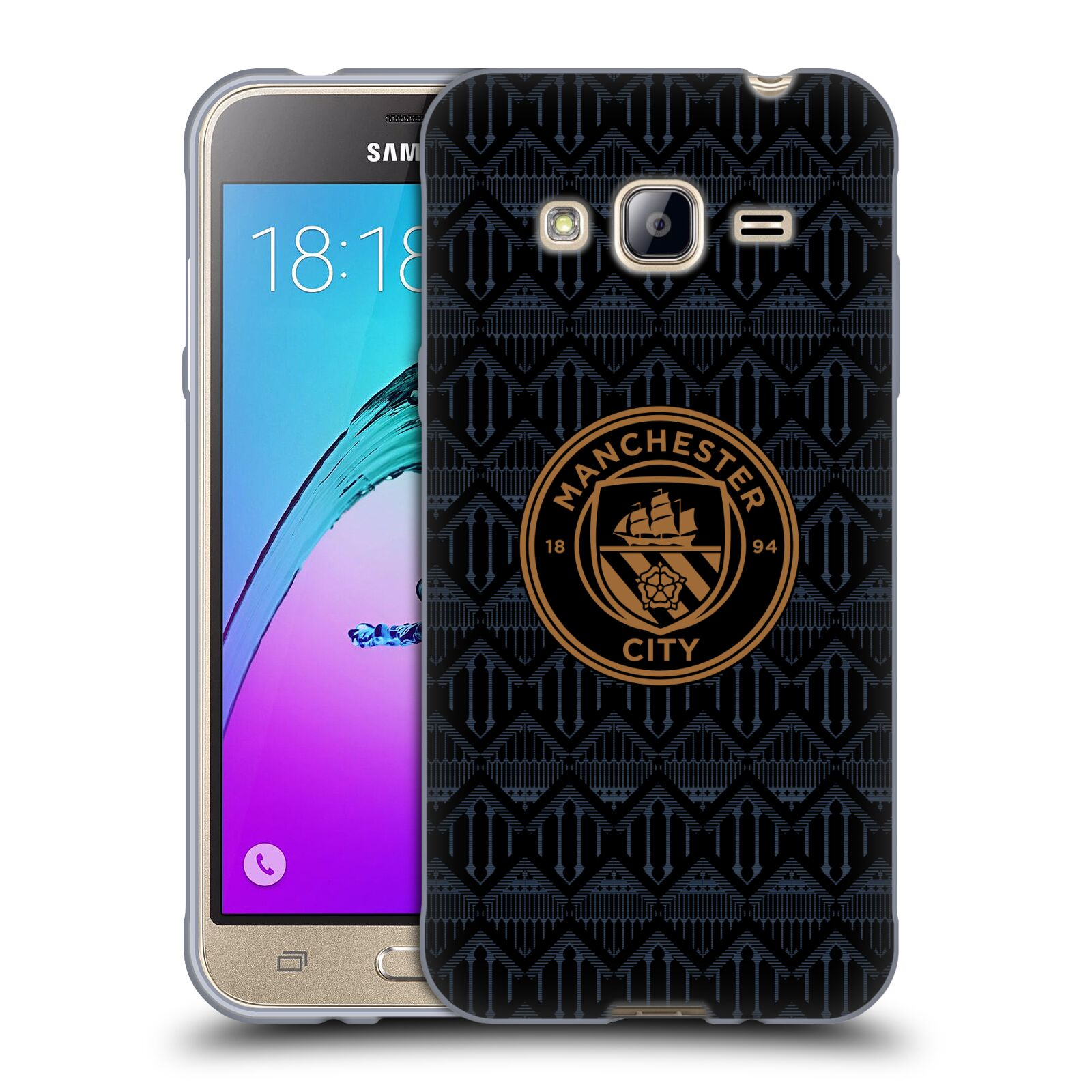 オフィシャル Manchester City Man 本日の目玉 FC 2020 21 バッジ キット 3 ソフトジェルケース Samsung 電話 初売り
