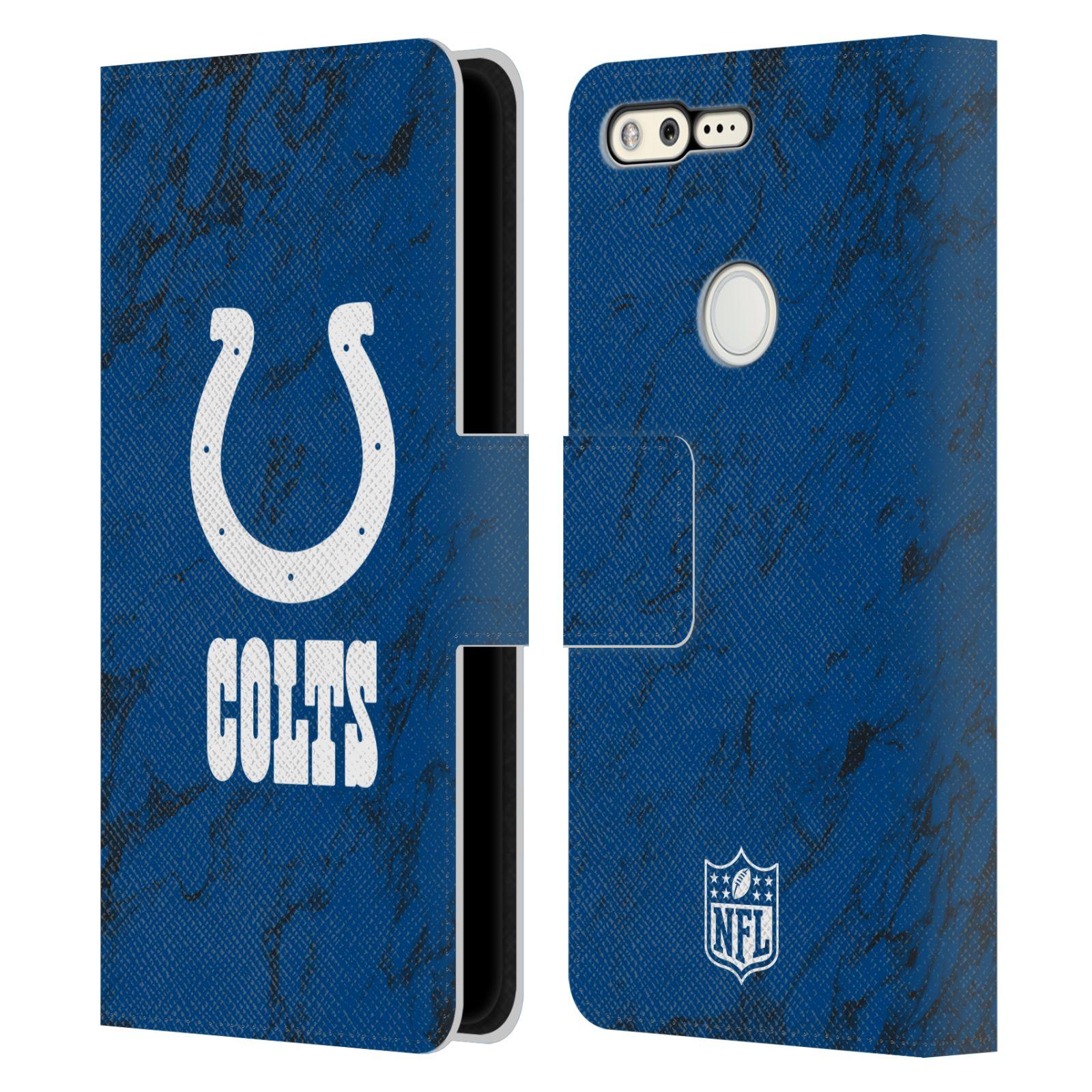 Pixel 3a 4a 選択 5G オフィシャル 商い NFL Graphics Google Colts Indianapolis レザー手帳型ウォレットタイプケース 電話