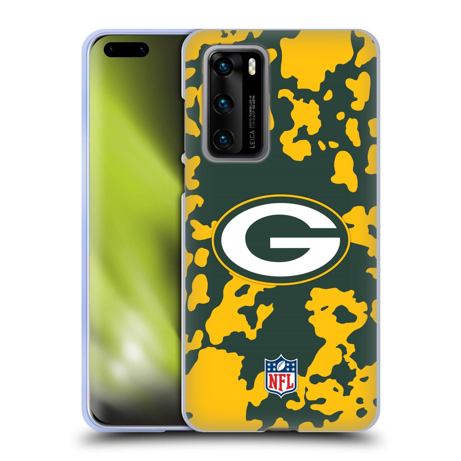 オフィシャル 気質アップ NFL グリーンベイ パッカーズ アート ソフトジェルケース Huawei 電話 買物 2