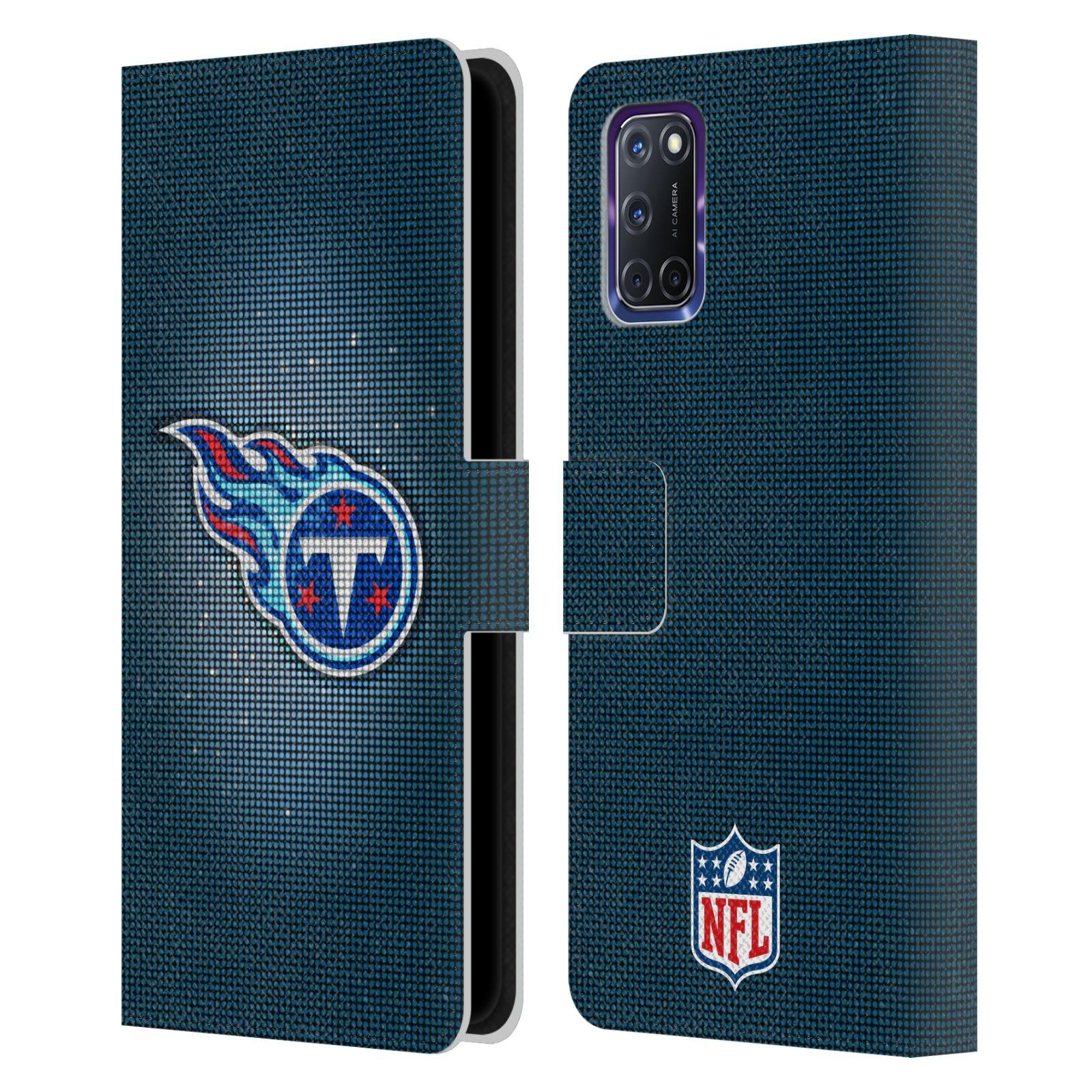 オフィシャル NFL 百貨店 Tennessee Titans Oppo レザー手帳型ウォレットタイプケース ストアー Artwork 電話