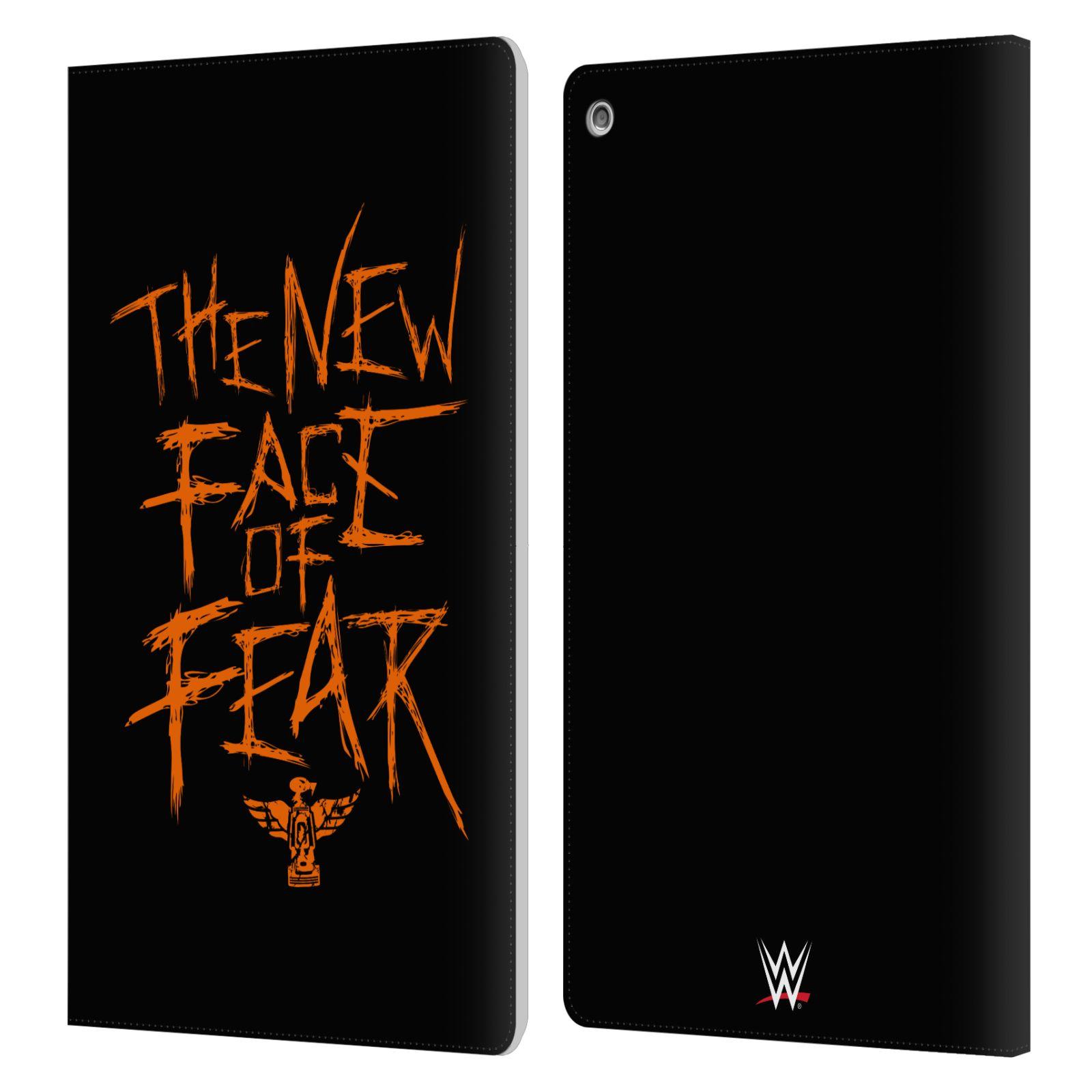 Fire HD 8 2015 2017 2018 Plus 国内送料無料 2020 Kindle HDX 8.9 WYATT Paperwhite レザー手帳型ウォレットタイプケース 3 Amazon 1 オフィシャル BRAY 2 国内正規総代理店アイテム WWE