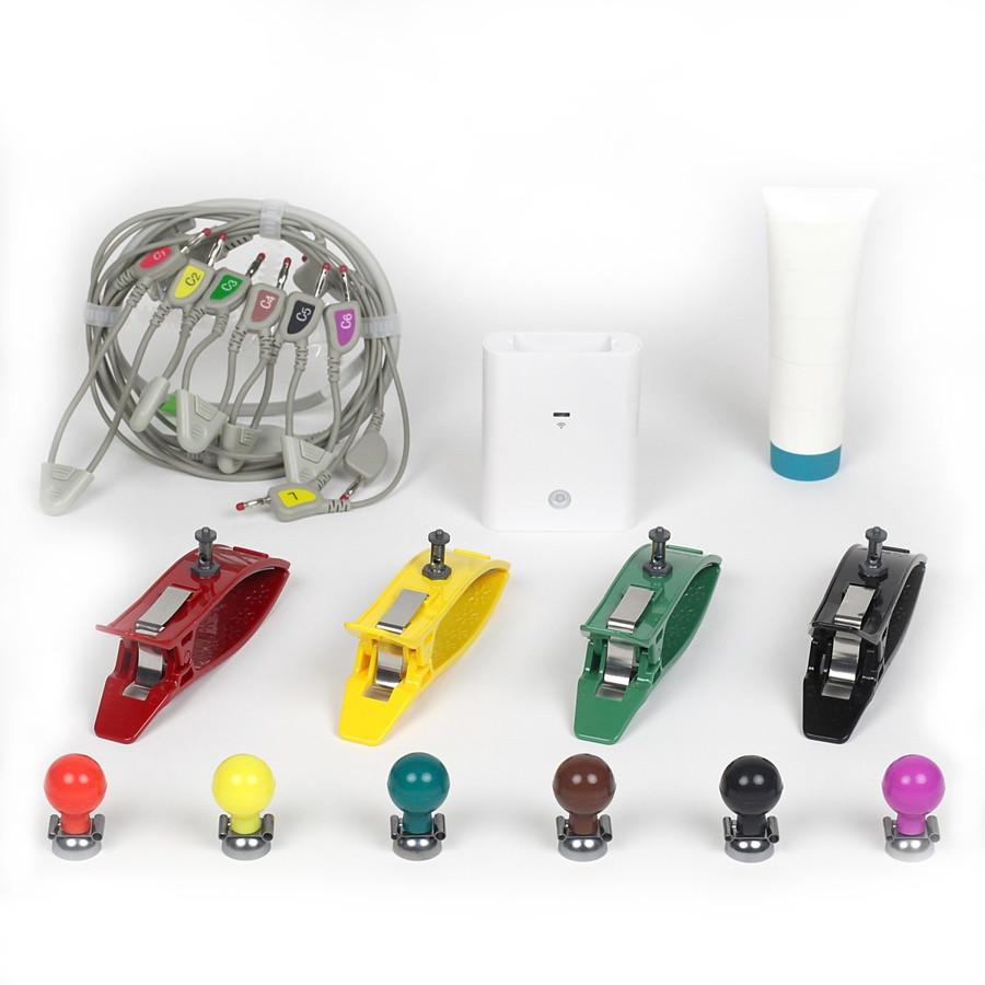 【iPad対応】12誘導心電計smartECG【Bluetooth版】三本型心電誘導コード版