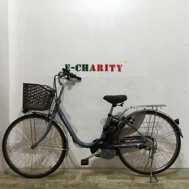 電動自転車 子供乗せ BRIDGESTONE ボーテ アッシュブルー 26インチ【KK034】 【神戸】