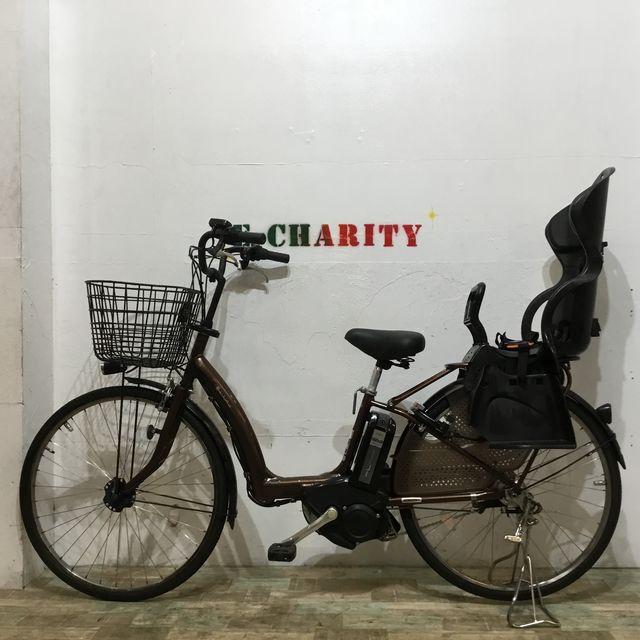 電動自転車 子供乗せ BRIDGESTONE アンジェリーノ 紫 20インチ【KK037】【神戸】