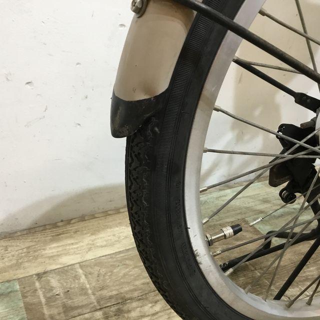 電動自転車 ママチャリ Panasonic ビビNX シルバー 26インチ【KK051】 【神戸】