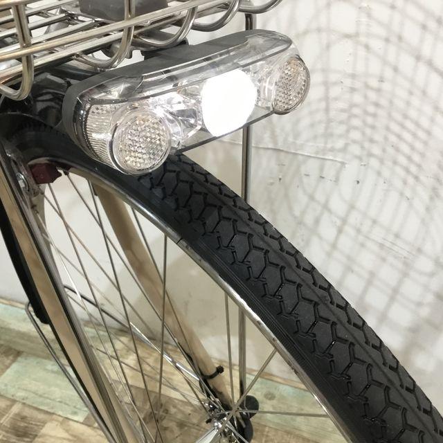 電動自転車 ママチャリ Panasonic ビビDX ブラウン 26インチ【KK059】【神戸】