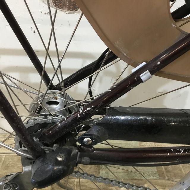 電動自転車 小径車 BRIDGESTONE アシスタユニ クロツヤケシ 20インチ 【KK063】 【神戸】