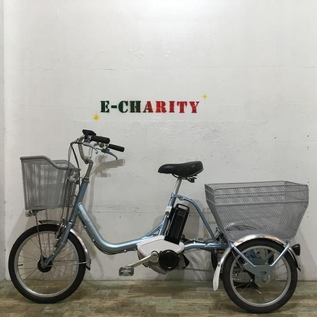 電動自転車 子供乗せ YAMAHA パスキッスミニ マットオリーブ 20インチ 【KK065】 【神戸】