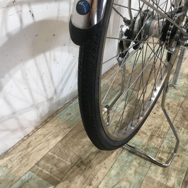 【Uber Eats ウーバーイーツ向け】電動自転車 ママチャリ Panasonic ビビDX ブラック 26インチ【KK092】【神戸】