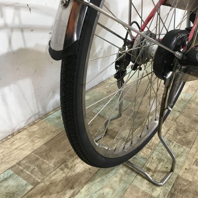 電動自転車 シティ YAMAHA PASCITYリチウム シルバー 27インチ【KK093】【神戸】