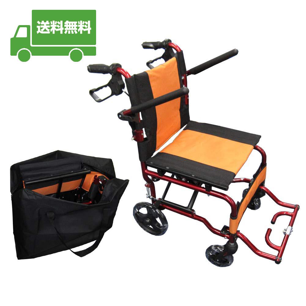 【軽い・丈夫・コンパクトの三位一体車椅子】 折りたたみ式 車椅子 Nice Way(ナイスウェイ) 【座面幅約40cm】 【簡易式】 【軽量】【介護・介助用】【介助ブレーキ付き】 【アルミ】