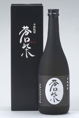 新潟の純米酒酒粕か 大幅にプライスダウン 本格焼酎 蒼紫 <セール&特集> 黒ボトル 720m