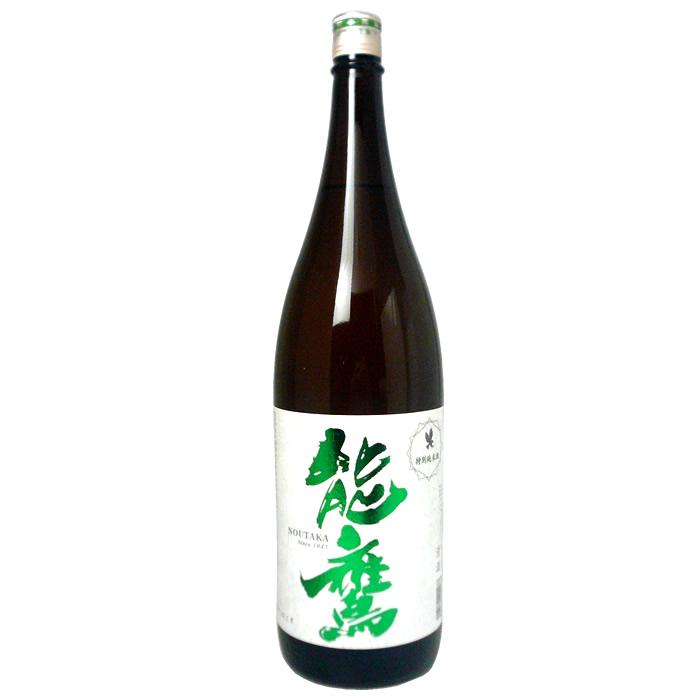 [まとめ買い]能鷹 特別純米酒 1.8L×6本 日本酒 田中酒造