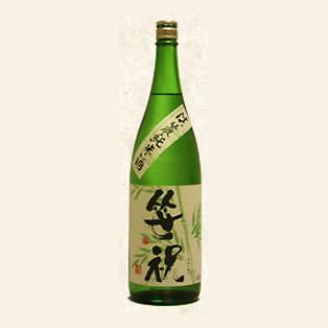 笹祝 淡麗純米酒 特別純米酒 1800ml×6本笹祝酒造【取り寄せ商品】