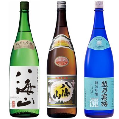 八海山 純米吟醸 と 1.8Lと八海山 普通酒 1.8L 日本酒 と 1.8L 越乃寒梅 灑 純米吟醸 1.8L 日本酒 3本 飲み比べセット, 赤ちゃんデパートニワ:0185e49d --- vidaperpetua.com.br