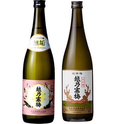 と 720ml 越乃寒梅 越乃寒梅 無垢 2 超特撰大吟醸 日本酒 720ml 純米大吟醸