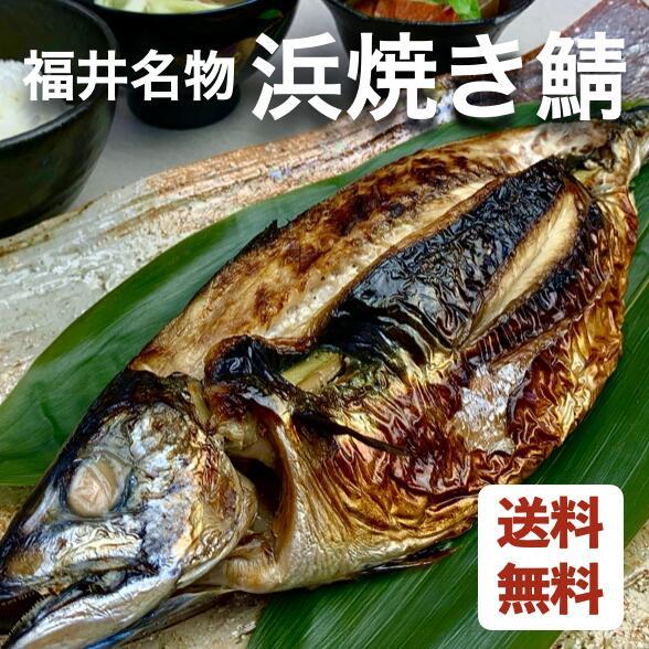 鯖街道が育む浜焼き鯖は日本の伝統的スタミナ食 【送料無料】福井名物 浜焼き鯖(3尾セット)【 鯖 プレゼント 贈答 贈り物 焼き鯖 御中元 ギフト 】