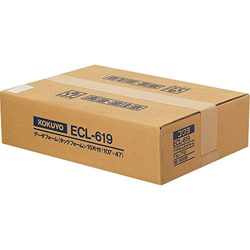コクヨ ECL-619 タックフォーム Y14XT10 15片 500枚(ECL-619)