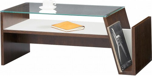 AZUMAYA moca モカ コーヒーテーブル【MOC-01BR】 [W90 X D42 X H37cm]【smtb-s】